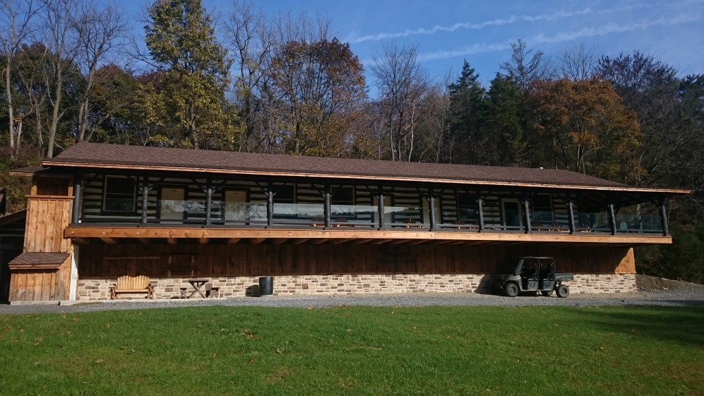 Central Pennsylvania Fly Fishing Lodge Hemlock Lodge Spruce Creek PA Trout Haven