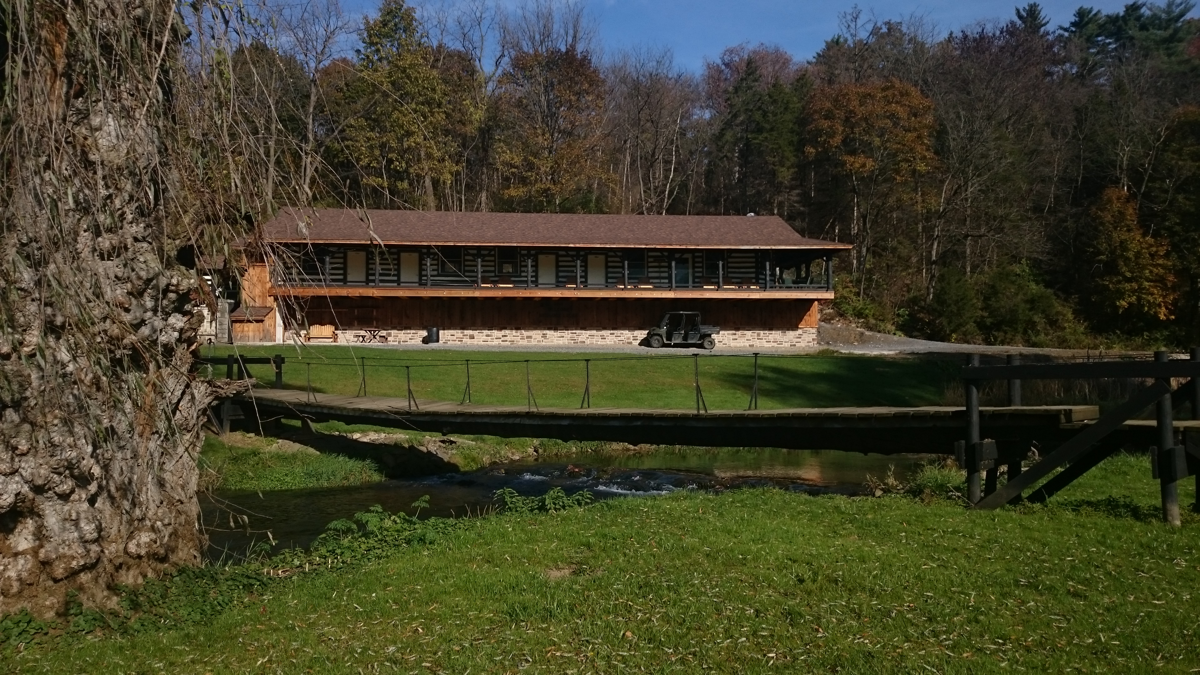 Best fly fishing lodges trout haven for Spring creek pa fishing report