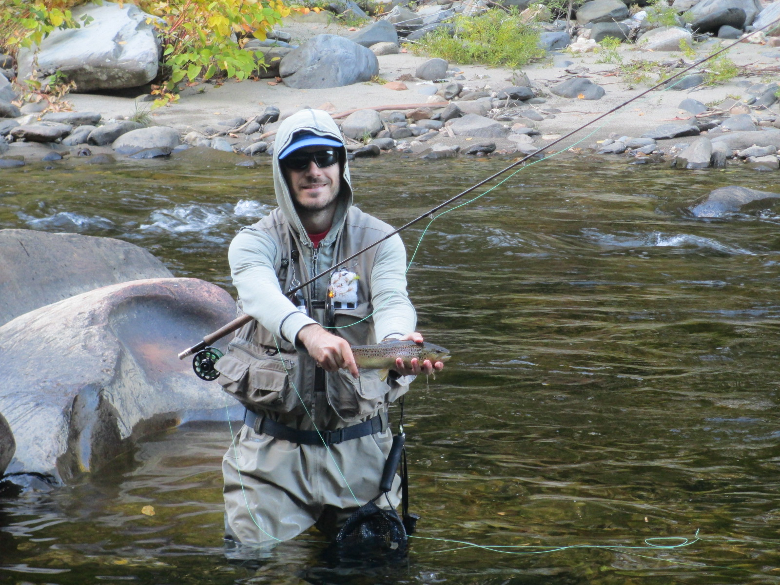 central massachusetts fly fishing trout haven