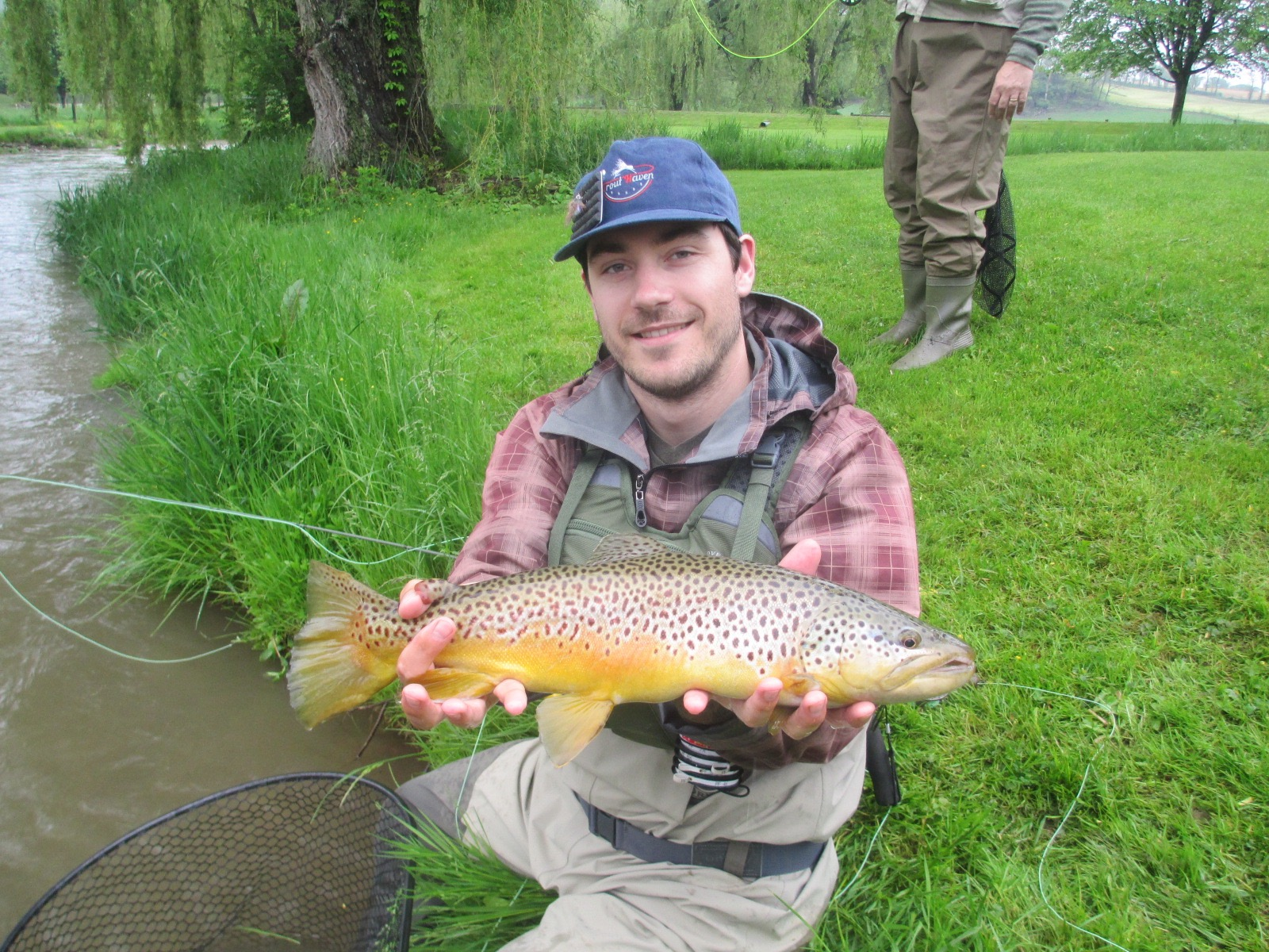 Central pa fly fishing spruce creek trout haven for Fly fishing pennsylvania