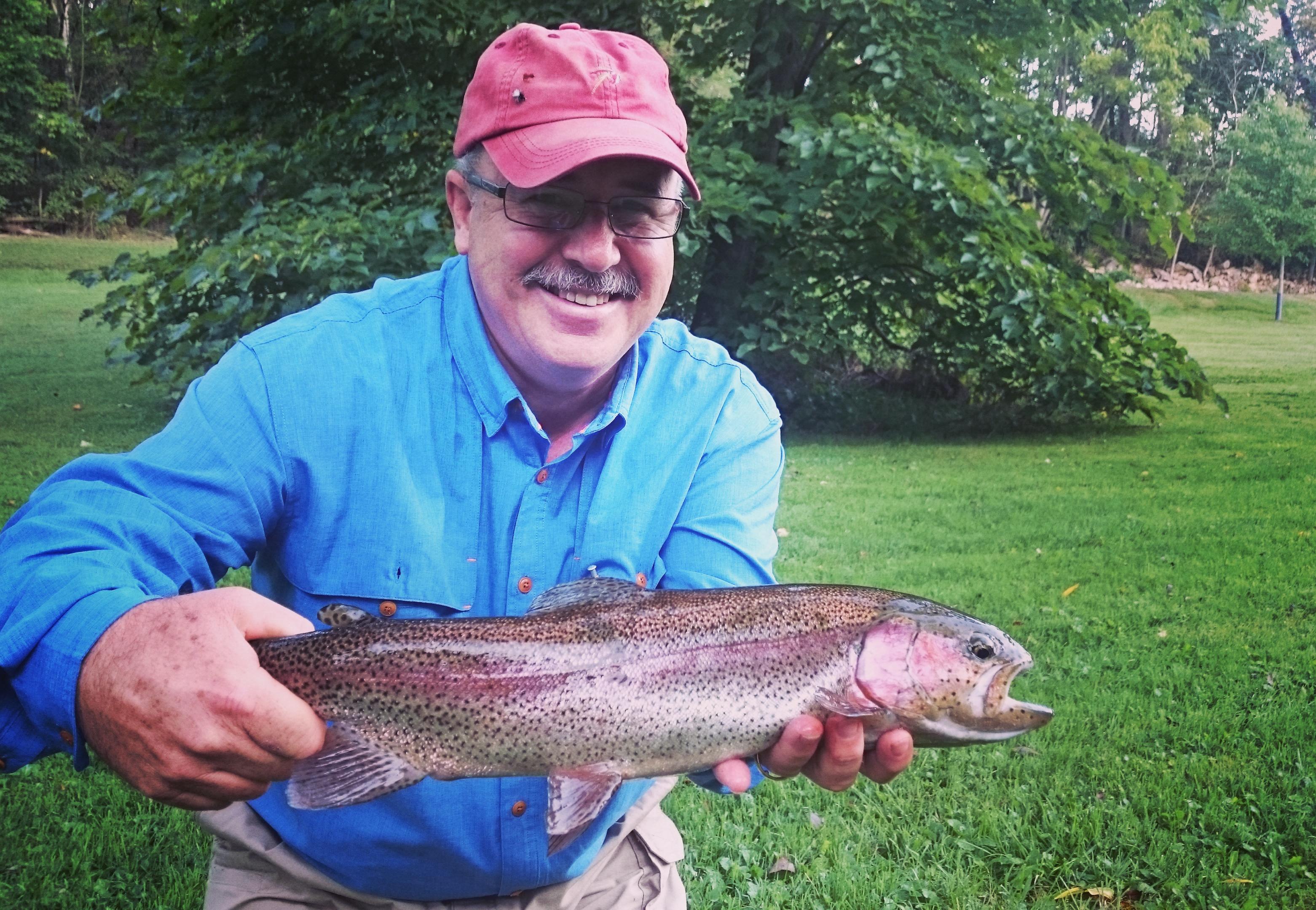 Top 5 of 2016 biggest and best rainbow trout caught on for Best trout fishing in pa