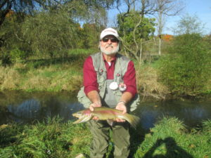 PA Fly Fishing spruce creek trout haven October