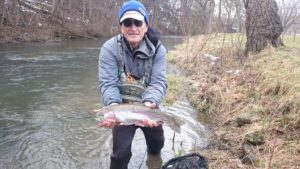 PA Fly Fishing Spring 2017 Rainbow Trout