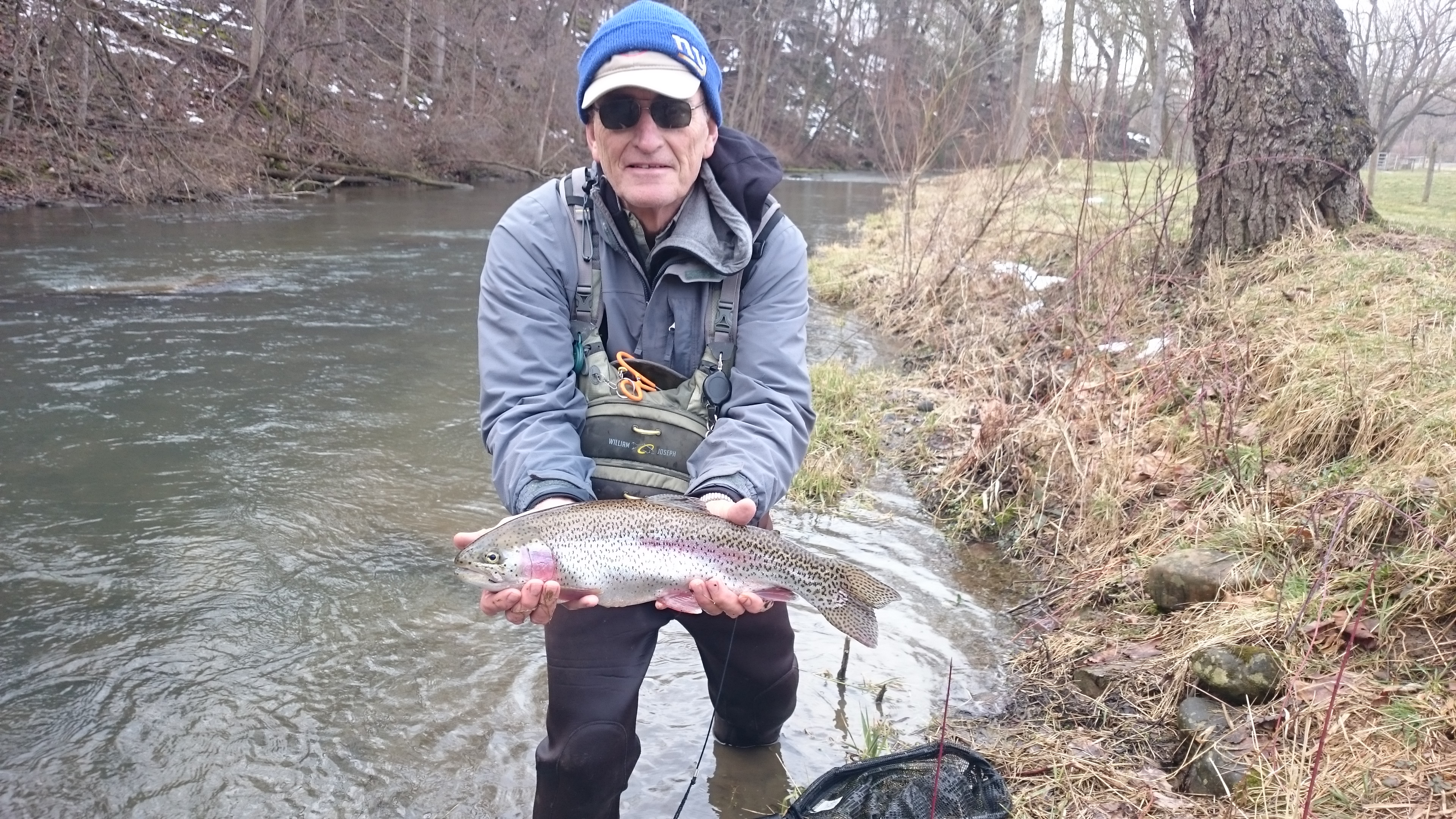 Pa fly fishing spring 2017 first trout of the spring season for Trout fishing pa