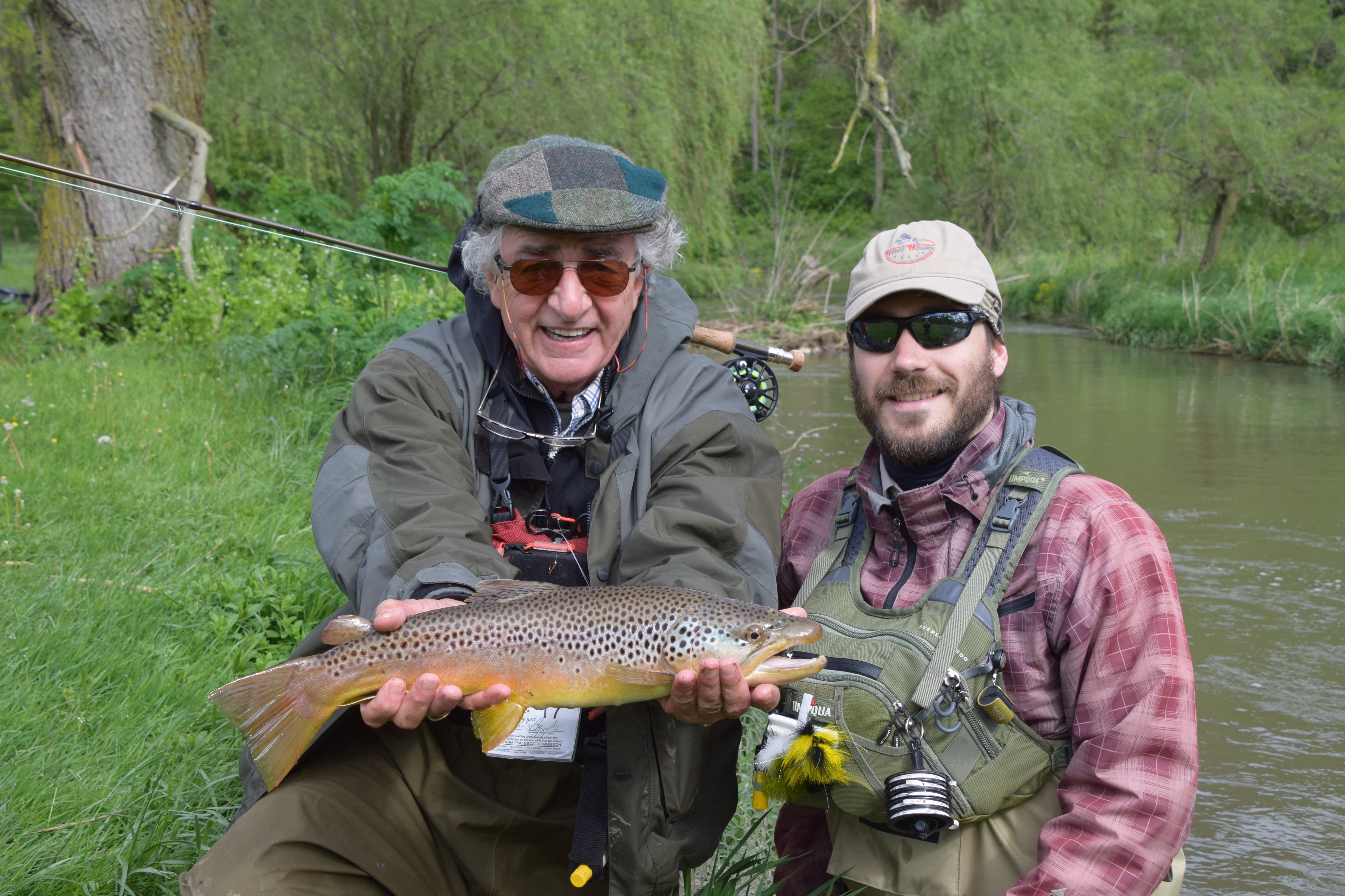 Spruce creek pa guided fly fishing trip for Fly fishing pennsylvania