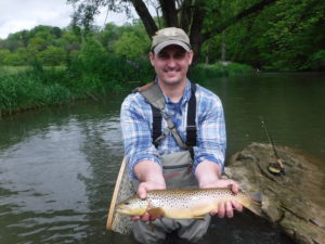 PA Fly Fishing Spring 2017 Spruce Creek Brown Trout