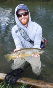 terrestrial dry flies on spruce creek trout haven brown trout