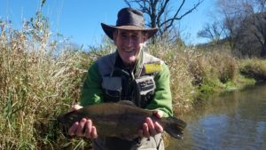 PA Fly fishing rainbow trout spruce creek trout haven