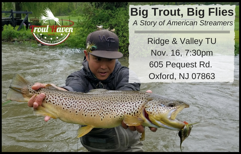 Big trout big flies at ridge and valley trout unlimited for Pa fish for free days 2017