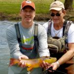 PA Spring fly fishing season brown trout haven grannom caddis