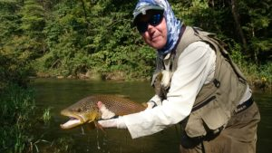 Small Stream Fly Fishing beating high water trout haven spruce creek