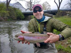 Pennsylvania Fly Fishing Highlights April 2021 Trout Haven Spruce Creek