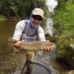 Best PA Summer Fly Fishing Trout Haven Little Lehigh Creek